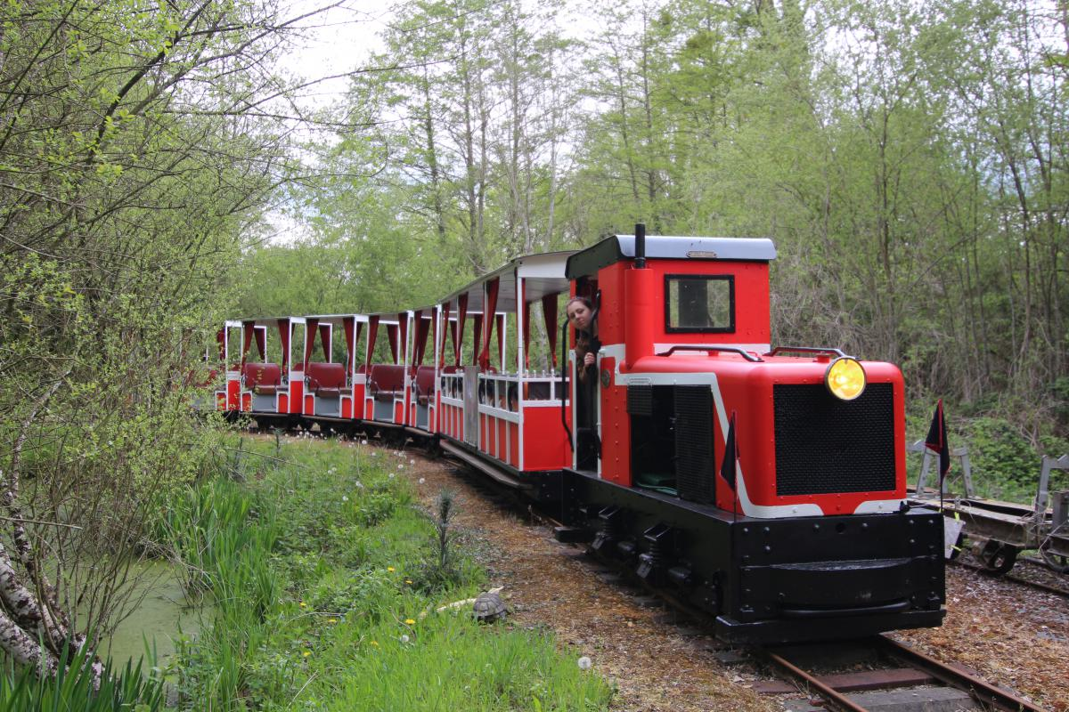 Le train rouge Decauville
